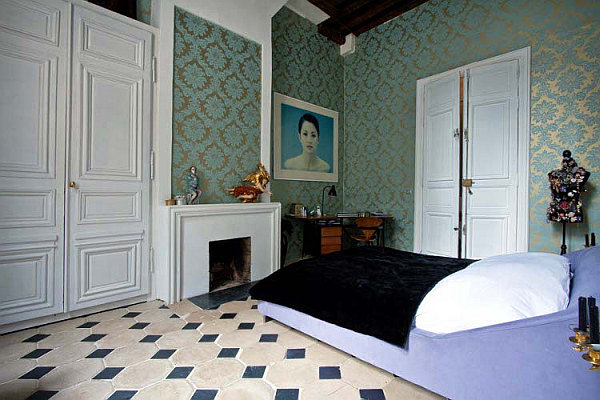 french inspired bedroom decor