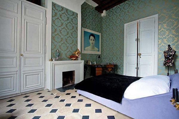 Bedroom Parisian Bedroom Decor: Parisian Apartment Mixes German Minimalism With French