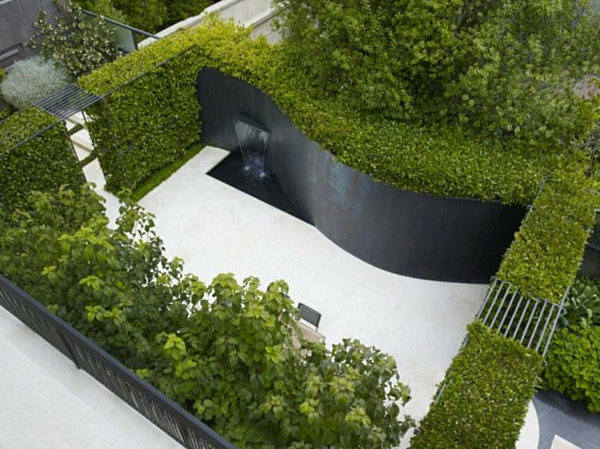 20 modern landscape design ideas for Modern garden design for small spaces