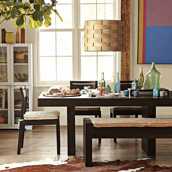 let your centerpiece light the way the twist bistro table from cb2 is
