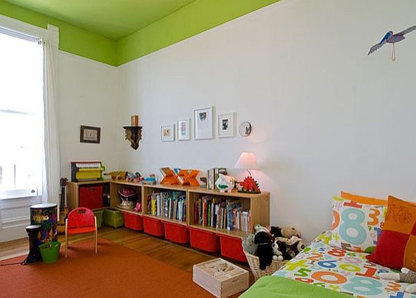 7 Inspiring Kid Room Color Options For Your Little Ones: Creative Ideas For High Ceilings