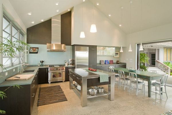 High Ceiling Kitchen Design Ideas ~ Creative ideas for high ceilings
