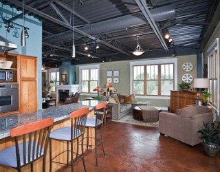 How to Make an Industrial Loft Feel Like Home