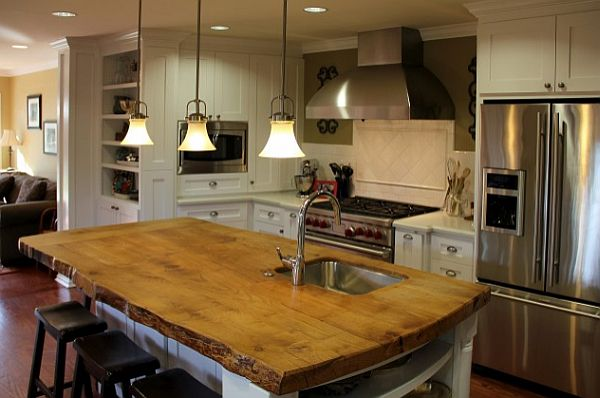 Kitchen Island With Countertop : kitchen island solid wood countertop - Decoist