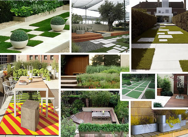 20 modern landscape design ideas for Small modern house garden design