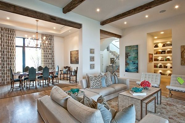 large light toned living room in austin