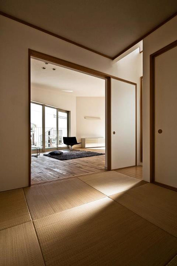 Traditional japanese house bedroom interior design ideas for Minimalist traditional house