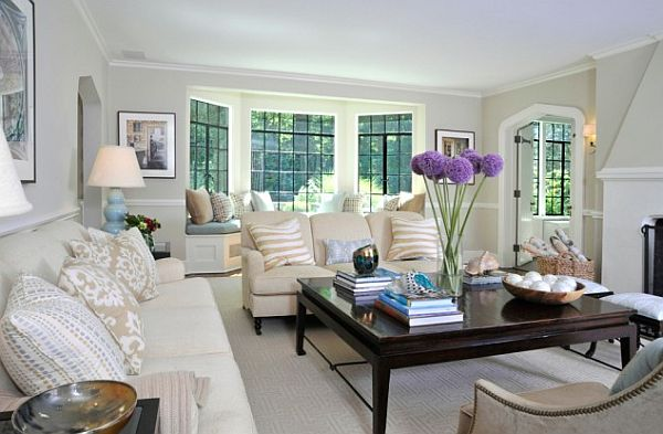 How To Utilize The Bay Window Space View In Gallery. Bay Window Ideas  Living Room