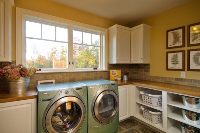 Top laundry room storage ideas - Laundry room shelving ideas ...