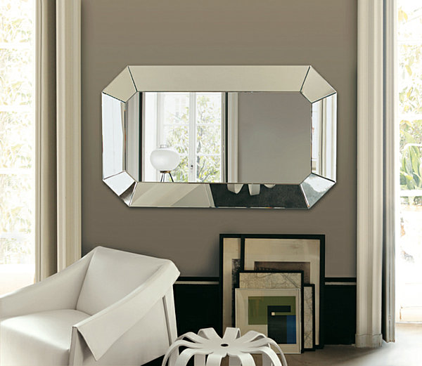 Geometric Wall Mirror 20 fabulous wall mirrors