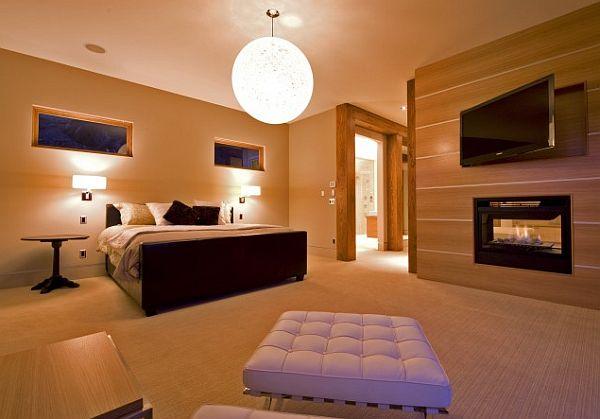 luxurious & comfortable master bedroom