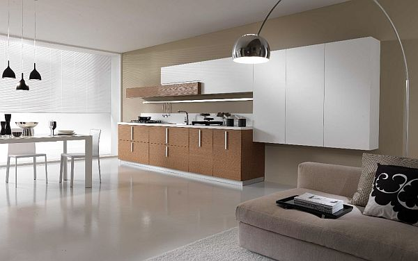 Design basics for a minimalist approach for Kitchen design zen type