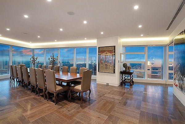 luxury penthouse Eureka Tower
