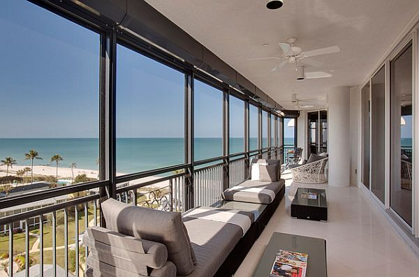 Stylish balcony decor ideas for Condo ceiling design