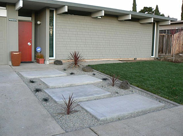 Mid Century Modern Landscape Design Ideas creating a mid century modern landscape design page 02 archive home View In Gallery