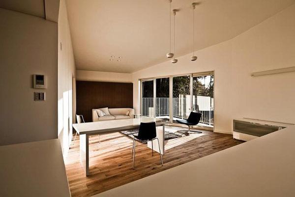 Nomura 24 minimalist japanese home for Japanese minimalist house interior