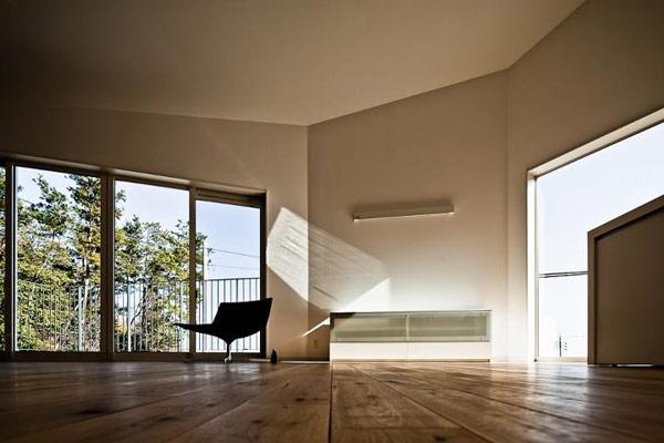 Nomura 24 minimalist japanese home for Japanese minimalist house