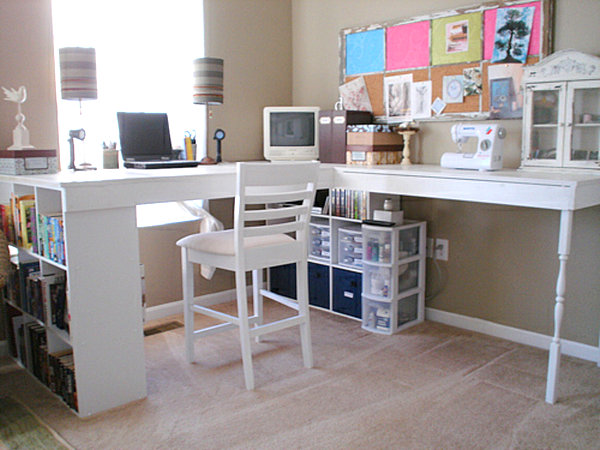 build your own corner desk