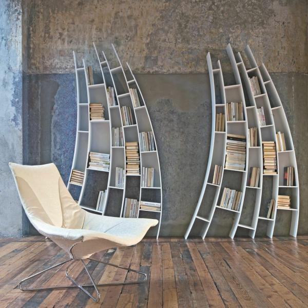 Interesting Bookcases 20 bookshelf decorating ideas