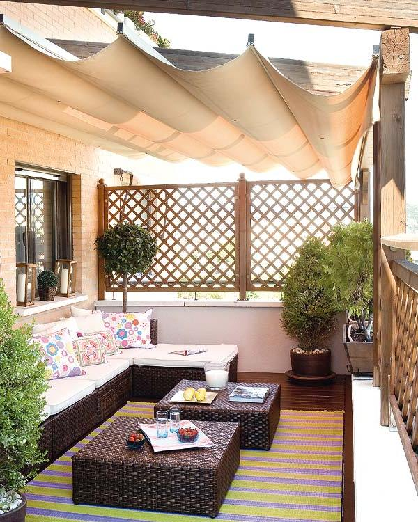 Stylish balcony decor ideas for Luxury balcony design