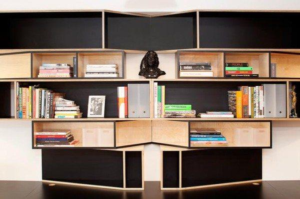 modern-bookshelf-with-colorful-books-600x397