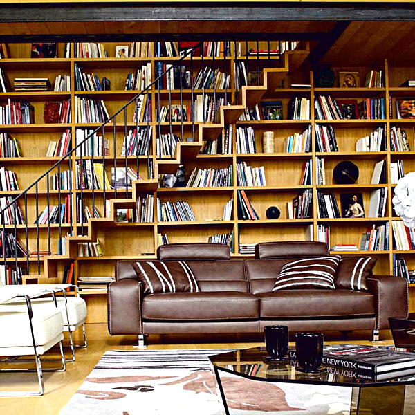 Modern Home Library Design Ideas: 20 Bookshelf Decorating Ideas
