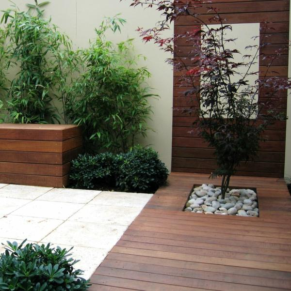 20 modern landscape design ideas for Japanese garden plans and plants