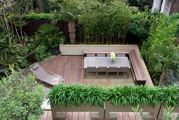 Modern Backyard Garden Ideas : the dramatic effect of modern terraced landscaping In this next yard