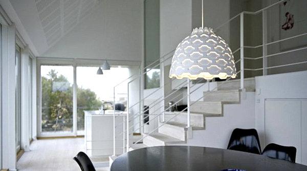 modern dining room pendant lighting