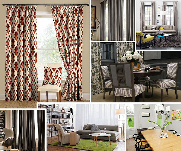 Drapery Ideas for the Modern Home on Draping Curtains Ideas  id=81460