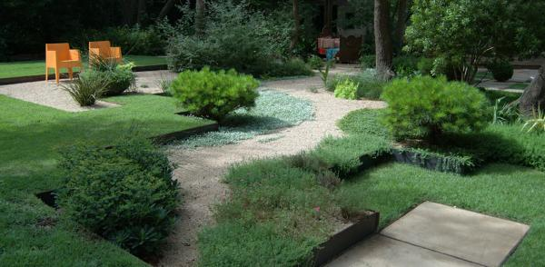 modern garden edging