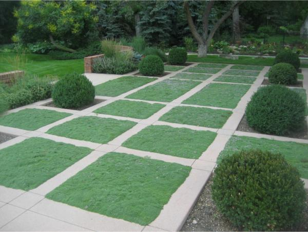 20 modern landscape design ideas for Grid landscape design