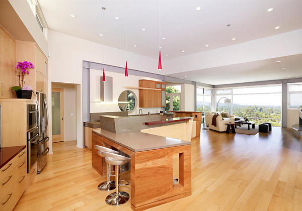 modern interiors with amazing views 2 Visual Treat: Interiors That Offer a Lot More than Four Walls