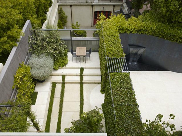 modern landscape design layout