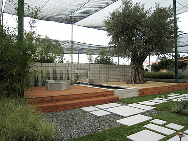 20 modern landscape design ideas for Modern backyard landscaping