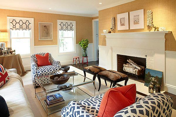 modern living room patterns and textures How to Mix Patterns Appropriately