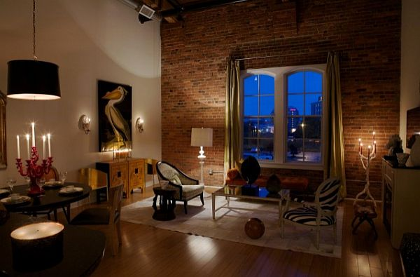 How to make an industrial loft feel like home for Living room ideas urban