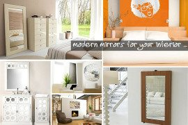modern mirrors for your interior
