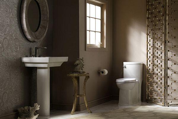 modern pedestal sinks