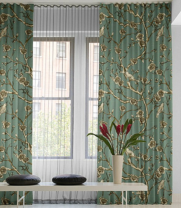 blue and cream wallpaper ideas