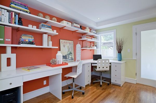 Home Office Shelving Ideas Home Ideas