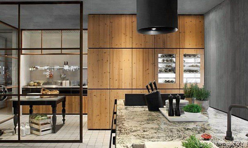 Natural Skin kitchen by Minacciolo