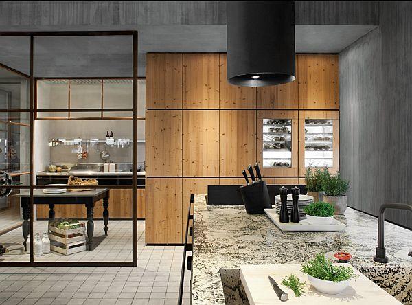 Natural skin kitchen by minacciolo for Natural kitchen design