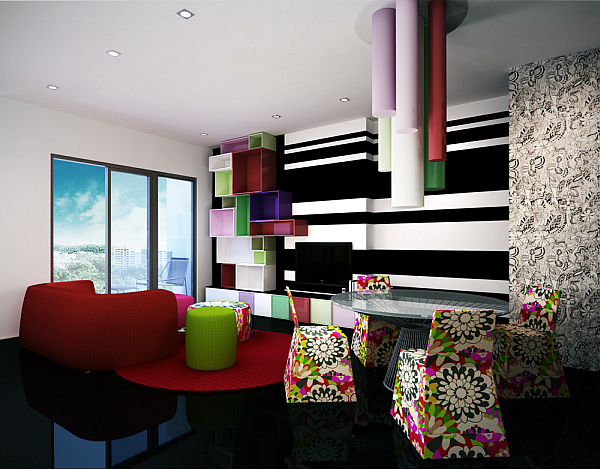 Implementing neon colors tastefully 17 design ideas Interior colour design