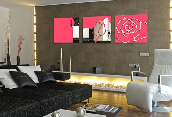 neon-flower-wall-mirror