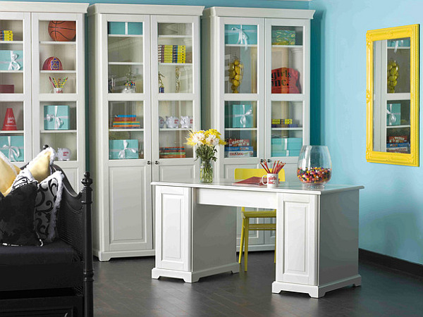 neon-inspired furniture for home office