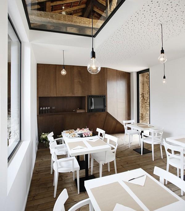 old barn transformation renovation – restaurant charroux, france 5