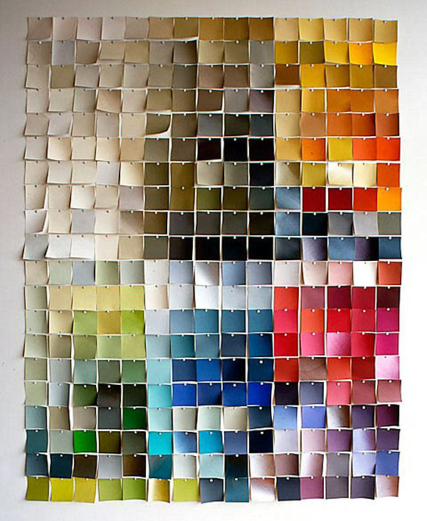 25 diy wall art ideas that spell creativity in a whole new way for Cheap artwork ideas