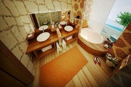 Keeping Up With the Trend Setters: Pulp Up Your Bathroom with Shades of Orange
