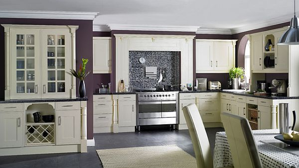 How to decorate with purple in dynamic ways for David james kitchen designs